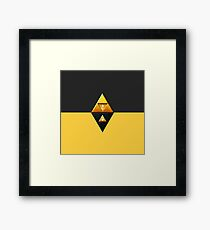 link to the past Framed Print