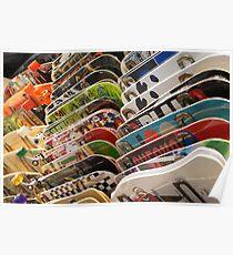 Skateboards Poster