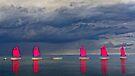 Voiles sous l'orage by cclaude