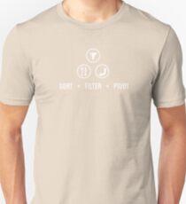 SORT FILTER PIVOT Unisex T-Shirt