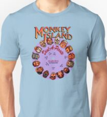 THE SECRET OF MONKEY ISLAND - DISC PASSWORD T-Shirt
