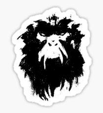 12 Monkeys - Terry Gilliam - Wall Drawing Black Sticker
