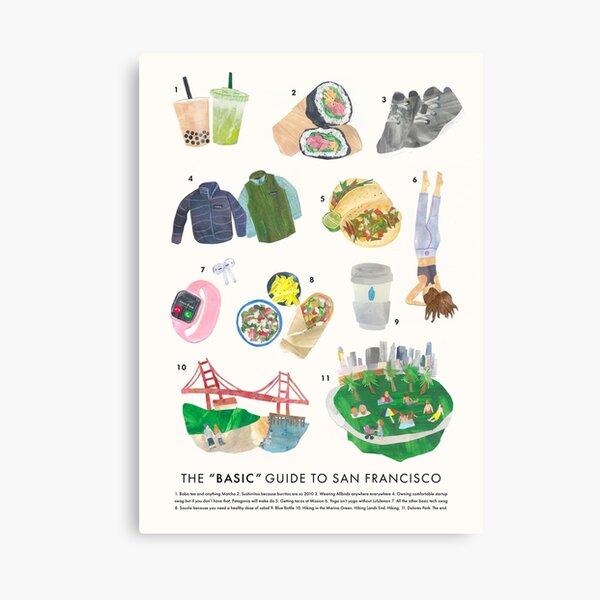 Basic SF Guide Canvas Print