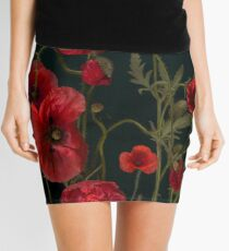 Poppies Mini Skirt