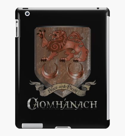 Caomhánach Rusty Shield iPad Case/Skin