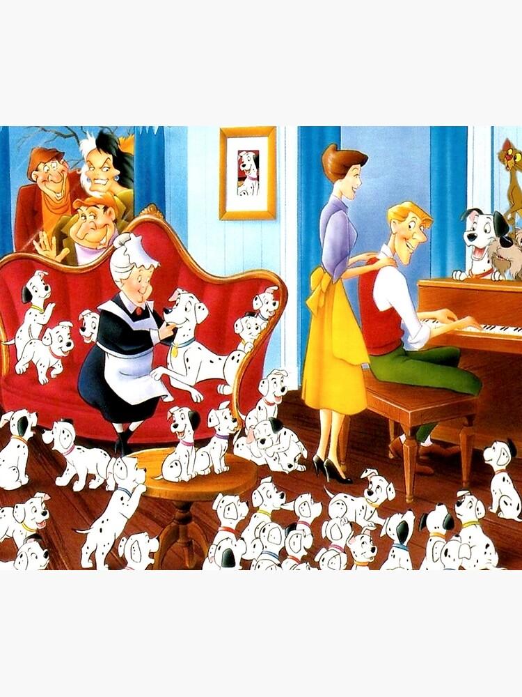 The 101 dalmatians family ... by Imagineagain