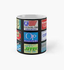 CALIFORNIA GAMES SPONSORS - MASTER SYSTEM  Mug