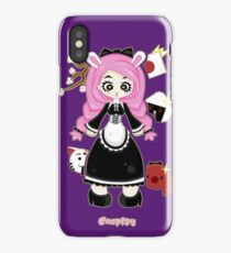 Cosplay Girl by Lolita Tequila iPhone Case