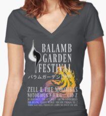 Balamb Garden Festival Women's Fitted V-Neck T-Shirt