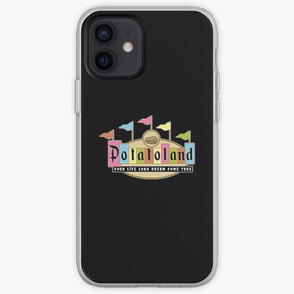 Potatoland Retro Sign T-Shirt iPhone Soft Case