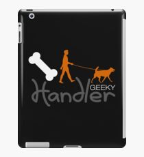 Geeky Handler iPad Case/Skin