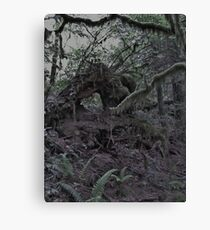 Creepy Forest Canvas Print