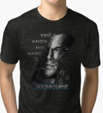 Jason Bourne Tri-blend T-Shirt