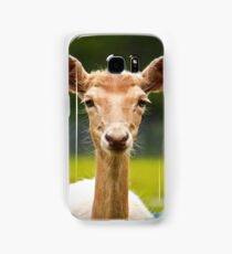 Eyebrows and Wiskers Samsung Galaxy Case/Skin