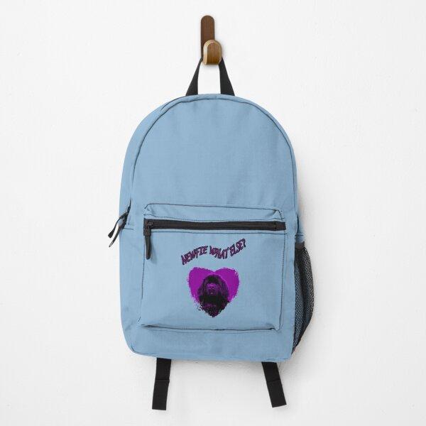 Newfoundland Dog Heart Purple What Else Backpack