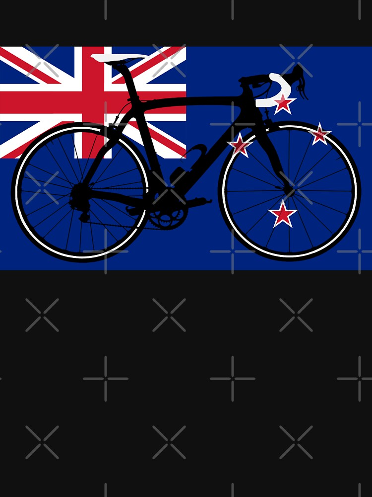 Bike Flag New Zealand (Big - Highlight) by sher00