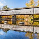Covered Bridge at Darlington by Kenneth Keifer
