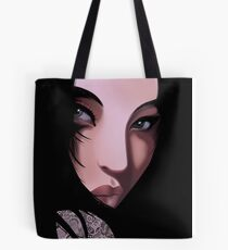 The Black Geisha Tote Bag