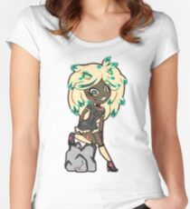 Lionetta by Lolita Tequila  Women's Fitted Scoop T-Shirt