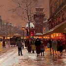 Edouard Cortes ( ), Porte St. Martin by MotionAge Media