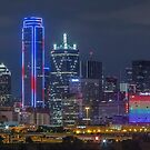 "Dallas ""Orlando Tribute"" Skyline 2016 by josephhaubert"