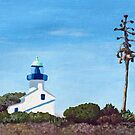 Old Lighthouse - Point Loma by Linda Marques