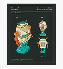 Robot (1982) Photographic Print