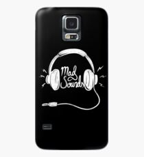 Mad Sounds White Case/Skin for Samsung Galaxy