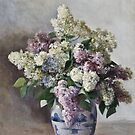 Fedor Karlovich Burkhardt () (RU) Lilacs in a pot,  by MotionAge Media