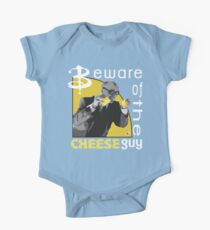 Beware of the cheese guy One Piece - Short Sleeve