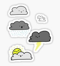 Cloud Friends Sticker Pack  Sticker