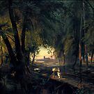 Forest path near Spandau  by Carl Blechen by MotionAge Media