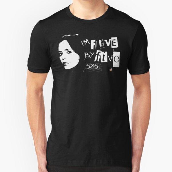 YO SOY CINCO POR CINCO Camiseta ajustada