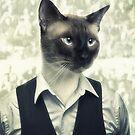 Fancy Cat by HenryWine