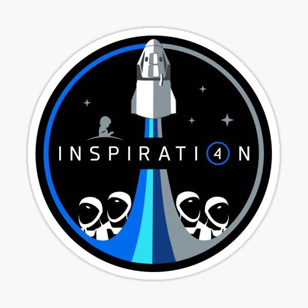 spaceX Inspiration4 Sticker