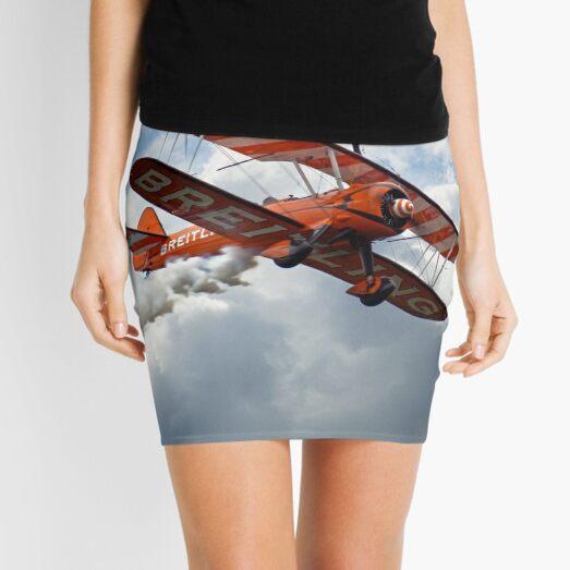 Brietling Wing Walkers Mini Skirt