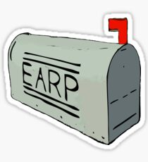 Earp Mail Box - Wynonna Earp Sticker