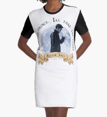 Keep the Prince, I'll take the Pirate - Killian Jones Graphic T-Shirt Dress