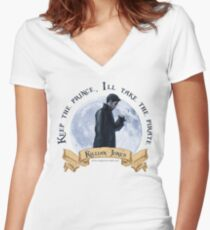 Keep the Prince, I'll take the Pirate - Killian Jones Women's Fitted V-Neck T-Shirt