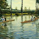 Gustave Caillebotte (French, ) Boating on the Yerres by MotionAge Media
