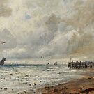 GUSTAVE DE BREANSKI () 'An April Day, Norfolk Coast' by MotionAge Media