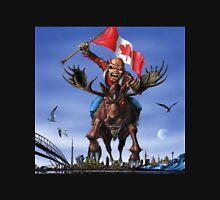 IRON MAIDEN ON CANADA Unisex T-Shirt