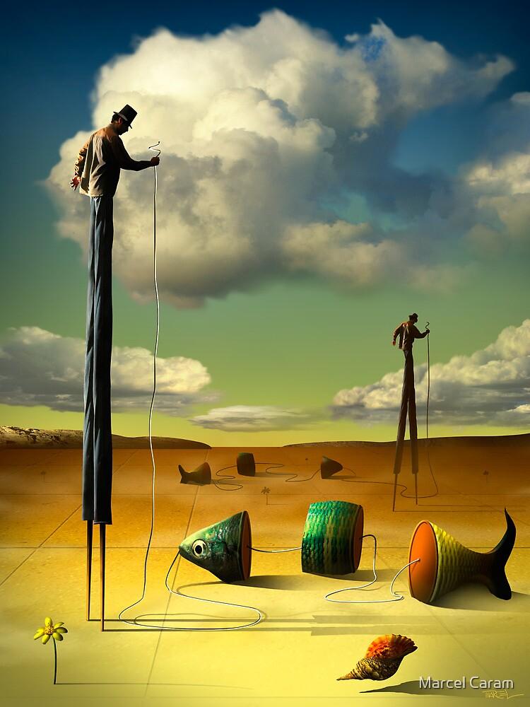 Os Homens da Perna de Pau e seus Peixes. by Marcel Caram