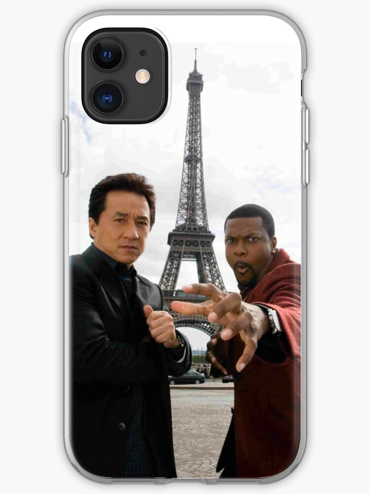 Jackie Chan And Chris Tucker Iphone Case By Justinwxiii