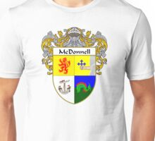 McDonnell Coat of Arms/Family Crest Unisex T-Shirt