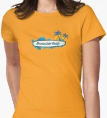 Oceanside - California. Womens Fitted T-Shirt