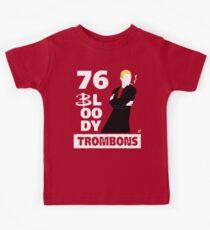 76 bloody trombons Kids Tee