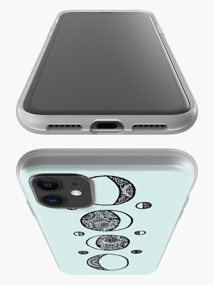 Alternate view of moons iPhone Case & Cover