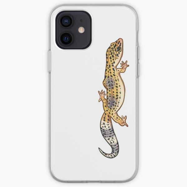 Fastwalking Normal Leopard Gecko - Vertical iPhone Soft Case