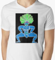 Dance Warrior  BIG CHIEF Men's V-Neck T-Shirt